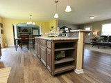 The Drake, kitchen island with storage