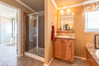 There's an optional door to the utility room from this master bath, for added convenience - The Bonanza Flex by Palm Harbor Homes