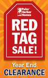 Red Tag Sale going on now at Palm Harbor in Fort Worth! Huge savings on beautiful new homes!