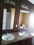 We have his and her sinks in almost every model home for sale and every floor plan