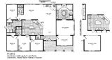 Here is the floor plan of a triple wide repo available in the Dallas Metroplex at $119,000! this is a heck of a deal when you know that this home new sells for $185, 000! www.mesquite.palmharbor.com
