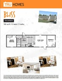 Bliss TRU Mobile Affordable Clayton Palm Harbor Fleetwood Cavco