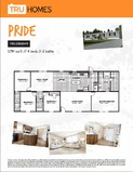 Pride TRU Mobile Affordable Clayton Palm Harbor Fleetwood Cavco
