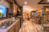 Everyone's dream kitchen is a bit different -  and you will find them all at Palm Harbor