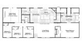 The Magnum KH30764M – 4 Bed / 2 Bath / 2 Living Areas – 2,584 Sq. Ft.