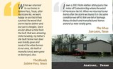 Another Hurricane Ike customer shares their experience of weathering the storm in a Palm Harbor home.