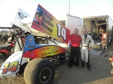 "Meet Mike ""Spike"" Lang - Driver of the Palm Harbor Sprint Car!"