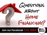 Join our live Q&A about home finance for all credit types.  Facebook Live this Friday April 14th @ 1PM CT.  Start writing your questions now!  See you Friday @ 1!!