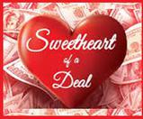 C'mon in to Palm Harbor in Caddo Mills this Valentine's Day Weekend to make your best deal & get a washer and dryer!