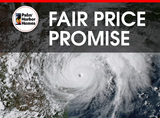 As a company, Palm Harbor is committed to helping Hurricane Harvey survivors who have lost their home replace it without fear of unfair, opportunistic price gouging.  We call this our FAIR PRICE PROMISE.