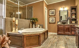 Everyone deserves a bathroom like this beauty!  Call Palm Harbor in Donna, Texas for more info - (956) 461-4800