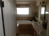 BEAUTIFUL DELUXE MASTER BATH WITH SOAKING TUB AND CERAMIC SHOWER