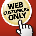 Web Customers Only Special