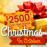 Christmas in October Sale & Gift Package!