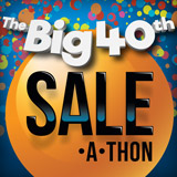 The Big 40th Sale-A-Thon