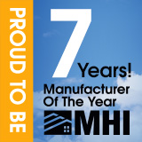 Proud to be MHI Manufacturer of the Year for Seven Straight Years
