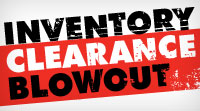 Inventory Clearance Blowout