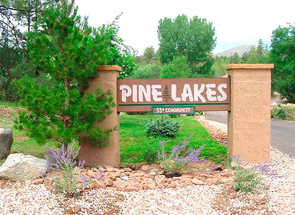 Pine Lakes Entry