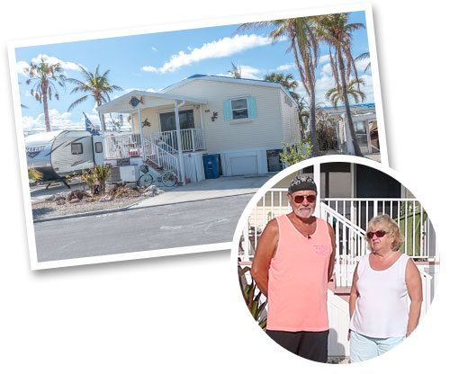 Kurt and Betty Stafford's Palm Harbor home survived Hurricane Irma