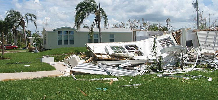 Norm and Betty Bunn's Palm Harbor Home survived Hurricane Charley