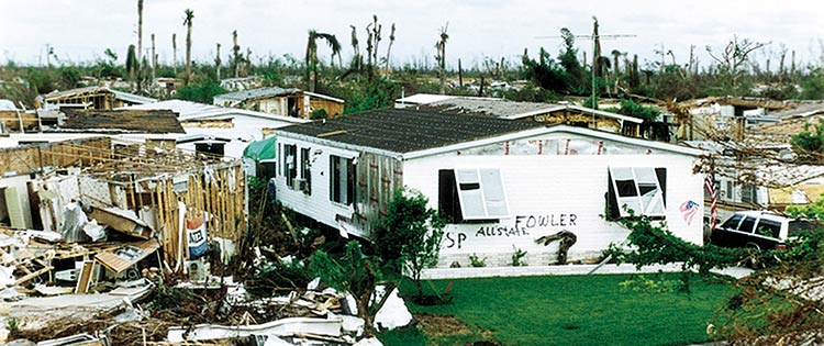 Art and Donna Fowler's Palm Harbor Home survived Hurricane Andrew