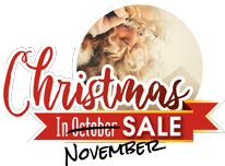Christmas in October Sale